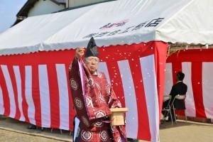 田中奥・塩ヶ谷公民館 地鎮祭