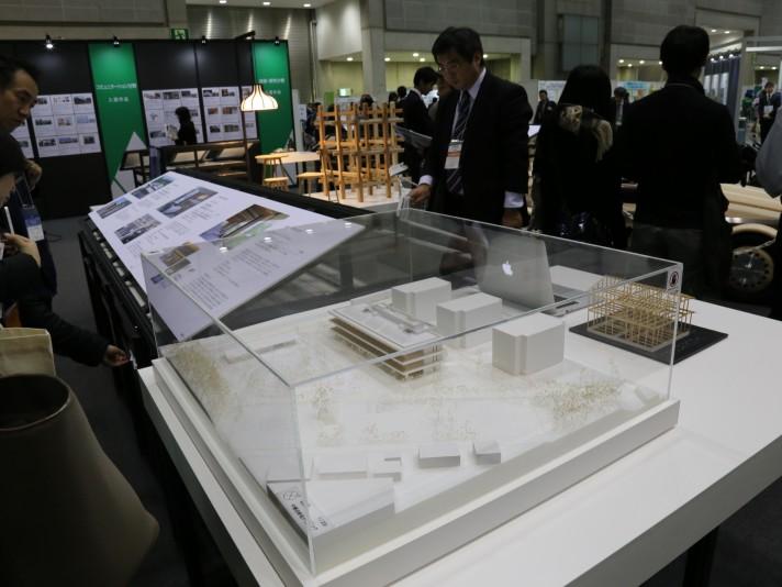東京ビックサイト ウッドデザイン賞 特設会場