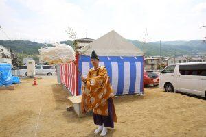 浅田様邸新築工事 地鎮祭