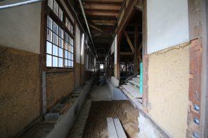 西脇小学校6月の工事状況