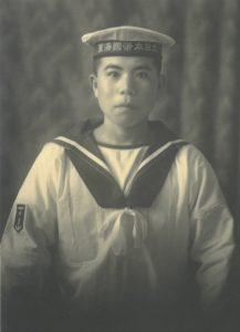 1943年 横須賀航海学校入校時の茂