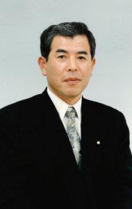 1986年 3代目社長就任時の俊一