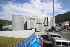 看護専門学校寄宿舎新築工事 上棟