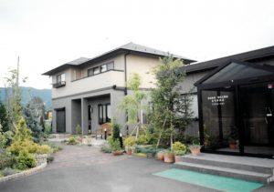 1996年に開設したカトラン住宅の展示場及び事務所 本