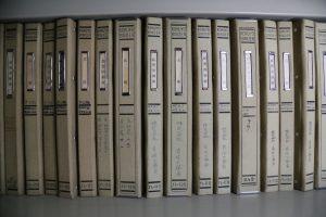 過去の帳簿もきちんと整理整頓されている