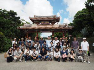 年に1回実施している社員研修旅行。2016年は沖縄でのさまざまな体験を通して、より一層の結束力を高めた