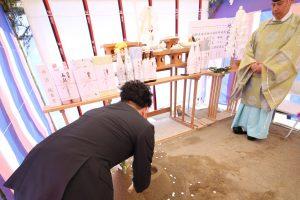 松井アーキメタル舞鶴工場新築工事 地鎮祭