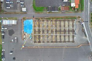 松井アーキメタル舞鶴工場新築工事 8月