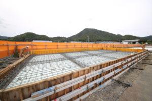 松井アーキメタル舞鶴工場新築工事 10月