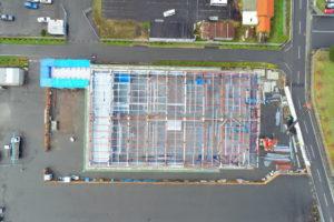 松井アーキメタル舞鶴工場新築工事 12月