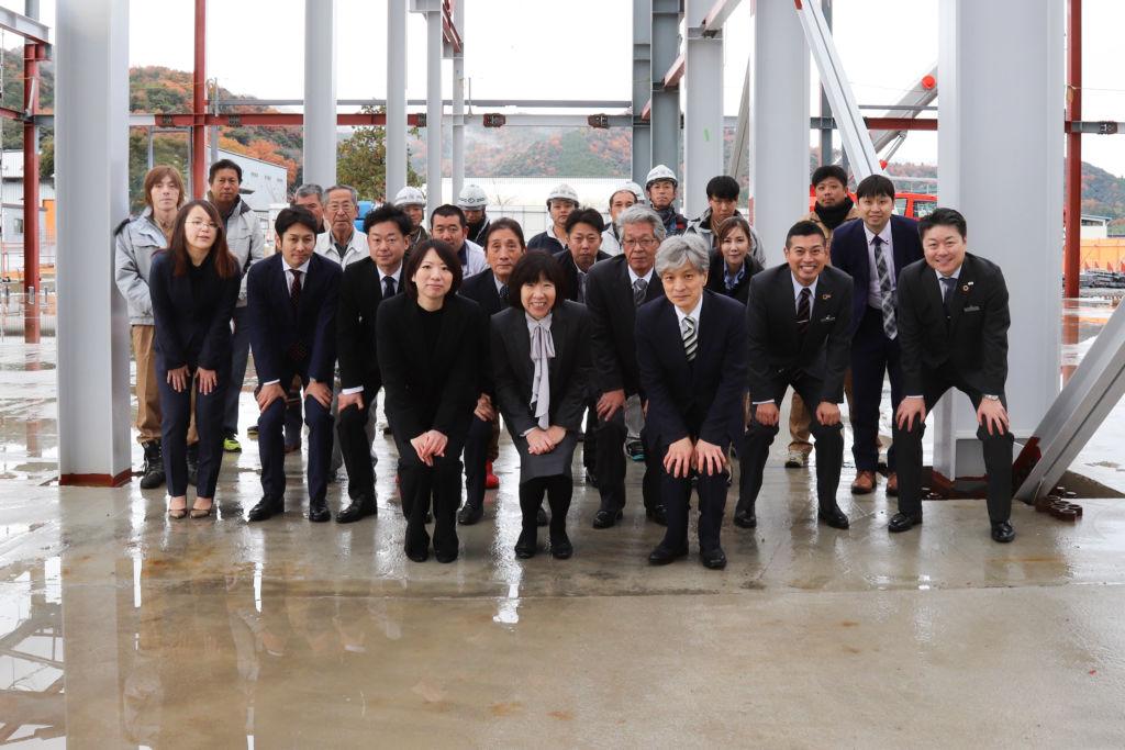松井アーキメタル舞鶴工場新築工事 上棟式