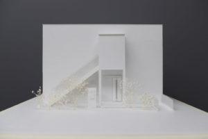 虹の会工房 障がい者グループホーム建設工事 模型