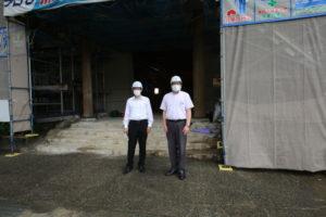 氷上回廊水分れフィールドミュージアム改修工事
